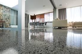flooring stunning concrete floor for interior design with beige