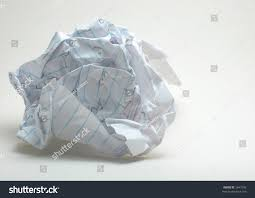 paper with writing on it crumpled note paper foolscap writing on stock photo 2647545 crumpled note paper foolscap with writing on it on white