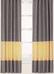 Yellow Brown Curtains Grey And Yellow Bedroom Curtains These Papers