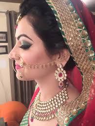 find the best bridal makeup services india new delhi image 1