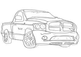 truck sketch handdraw royalty free stock photography image
