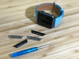 how to replace the lugs on your apple watch bands to match your