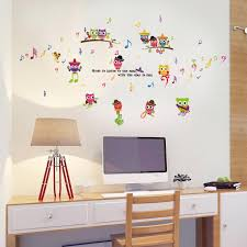 popular music decorations stickers buy cheap music decorations wall stickers home decor music owl birds branch removable kids decor mural wall stickers decal