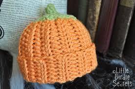 halloween hats for babies pumpkin or berry baby hat crochet pattern little birdie secrets