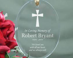 in loving memory items memorial ornaments etsy