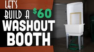 how to build a photo booth how to build a screen printing washout booth start screen