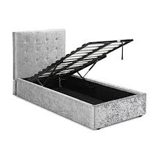 Vio Bathroom Furniture by Rimini Crushed Velvet Ottoman Bed U2013 Next Day Delivery Rimini
