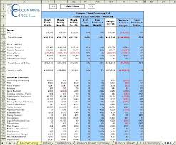 Account Spreadsheet Template Financial Management Reporting System Excel Template For