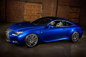 lexus rcf blue new lexus rc f sports coupe pictures u0026 details video autotribute