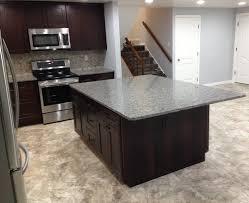 cabinets u0026 drawer shaker kitchen with curved island black ceramic