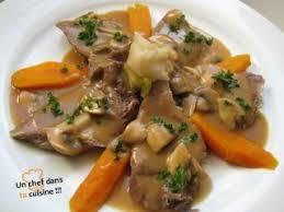 cuisine langue de boeuf langue de boeuf sauce madère recette ptitchef