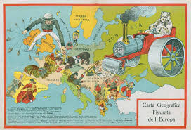 Historical Maps Of Europe by Europe Satirical Maps Zoom Maps