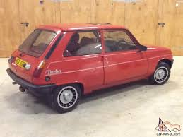renault gordini 2016 1983 renault 5 gordini turbo red