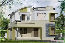 2 floor villa plan design 2400 square feet 2 floor house kerala home design and floor plans