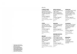 2 of 18 price lists u0026 menus u2013 sketch restaurant london french