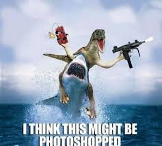 Dinosaurs Meme - what can the funniest shark memes on the internetz teach us about