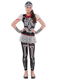 Womens Skeleton Costume Teen Sassy Skeleton Costume 841349 55 Fancy Dress Ball