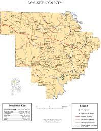 Alabama Maps Maps Of Walker County