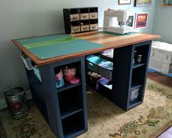 Diy Wooden Computer Desk by 53 Best Craft Room Tutorials Images On Pinterest Ana White