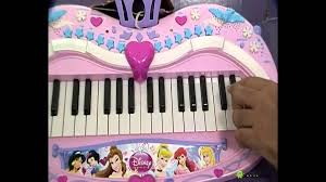 Disney Princess Keyboard Vanity Disney Princess Battery Operated Keyboard Youtube