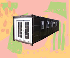 amazon is selling a tiny shipping container house domino