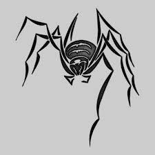 new tribal spider tattoo design tattooshunt com
