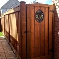Gallery Of Fence And Gate Designs Suburban Fence - Backyard gate designs