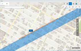 Map Radius Tool How To Use Windows Ink On The Maps App On Windows 10 Windows Central