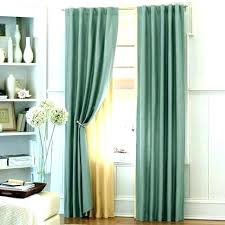 Bright Blue Curtains Green And Blue Curtains Modern Chenille Blackout Blue Olive Green