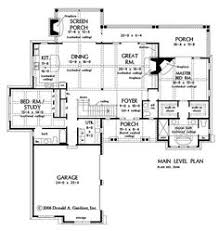 Hillside Floor Plans First Floor Plan Of Ranch House Plan 54075 Finished Basement 2