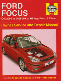 ford focus petrol and diesel service and repair manual 2001 to
