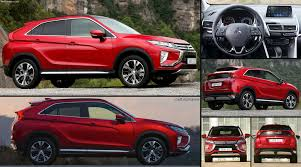 modified mitsubishi eclipse mitsubishi eclipse cross 2018 pictures information u0026 specs