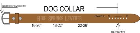 Flag Measurements Texas Flag Leather Dog Collar With Name
