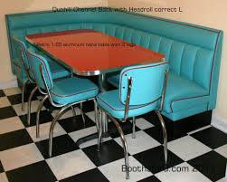 diner style booth table diner style kitchen table and chairs american dining for in