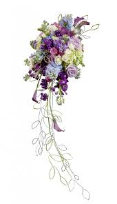 cascading bouquet how to make your own cascading bouquet with silk or fresh flowers