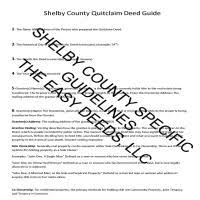 shelby county quit claim deed form tennessee deeds com