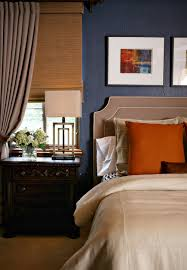 Gray And Orange Bedroom Winter Blues Evolution Of Style