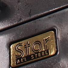 Vintage Industrial File Cabinet Polished Steel Filing Cabinet By Stor Unique Vintage Industrial