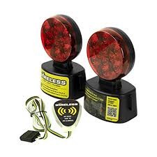 fcc compliant led lights blazer c6304 fcc approved wireless led towing light kit 1 pair