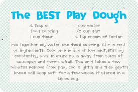 printable playdough recipes the best homemade play dough recipe picture tutorial fabulessly