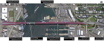 Map Ballard Seattle by Study Widening Ballard Bridge Sidewalks Possible But It Won U0027t Be