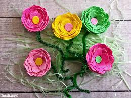 fun flower craft kids will love isavea2z com