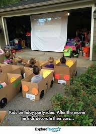 Backyard Birthday Party Ideas Best 25 Drive In Movie Tips Ideas On Pinterest Movie Party