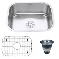16 Gauge Kitchen Sink by Ruvati Rvm4132 Undermount 16 Gauge 24 Inch Kitchen Sink Free