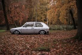 volkswagen caribe tuned stance works steven garreyn u0027s slammed mk1 vw