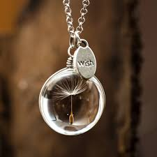 wish necklace images Dandelion wish necklace kitschy koo design australia jpg