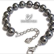 black pearl bracelet jewelry images Swarovski jewelry nwot genuine black pearl bracelet poshmark jpg