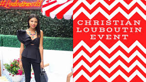 christian louboutin miami opening event ky chic youtube