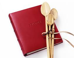leather recipe books and organizers personalized gallery leather