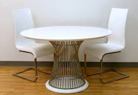 dining room futuristic dining furniture design with platner platner dining table knoll platner chair expandable dining table round